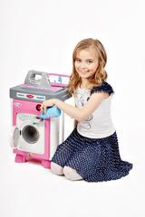 Набор Carmen №2 со стиральной машиной (в пакете) (со звуком и вращающимся барабаном)