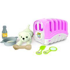 Игровой набор мой Любимый щенок, цв.розовый