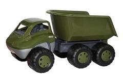 Дакар, автомобиль-самосвал военный с прицепом (в пакете)