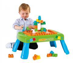 Набор игровой с конструктором (20 элементов) в коробке (зелёный) с элементом вращения