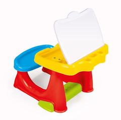 Парта со скамейкой и открывающейся столешницей