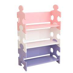 """Система хранения """"Пазл"""", пастель (Puzzle Bookshelf - Pastel)"""