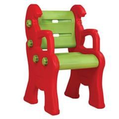"""Детский пластиковый стул """"Королевский"""", красный"""