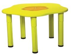 """Детский столик """"Сэнди"""", с системой хранения мелочей, цвет Желтый"""