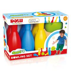 Мега набор боулинг из 6 кеглей и 1 шаром