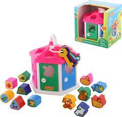 Логический домик (в коробке)