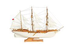 Сборная модель-копия. Учебно-парусное судно