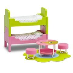 Мебель для домика Смоланд Детская с 2 кроватями