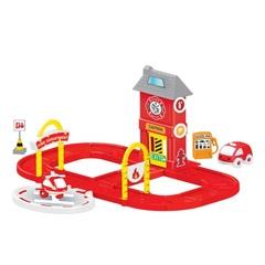 Игровой набор пожарная станция с круговой дорогой