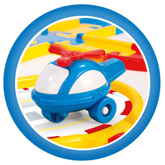 Игровой набор дорога с машинками 54 детали