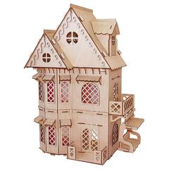 Кукольный домик серия Я дизайнер Дом принцессы, конструктор