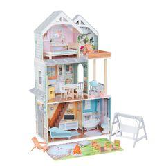 Кукольный домик  Хэлли, с мебелью 27 элементов