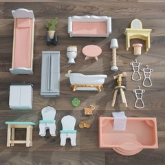 Кукольный домик Особняк Селесты, с мебелью 22 элементов