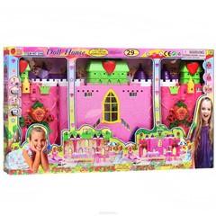 Дом-трансформер (раскладной) для кукол Барби (3240), 29 дет.