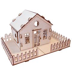 Кукольный домик серия Я дизайнер Дачный домик, конструктор