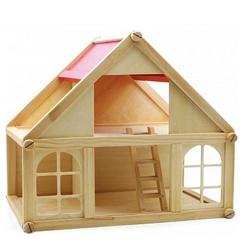 Деревянный кукольный дом 1 этаж