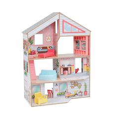 Кукольный домик Чарли, с мебелью 10 элементов