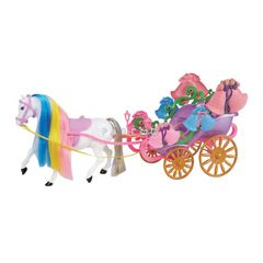 Карета с лошадью для кукол 1toy Т53234