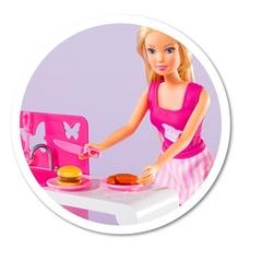 Кукла Штеффи на кухне + аксессуары, 29 см