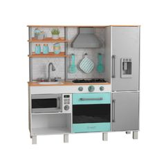 Кухня игровая Гурман-шеф, цвет: серый