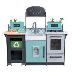 Кухня игровая Гурман, цвет: серый