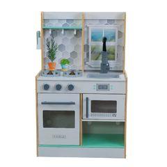 Кухня игровая Давай готовить, цвет: натуральный
