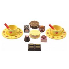 Набор Чайный - 2 чашки и сладости
