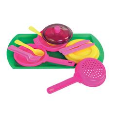 Набор игрушечной кухонной посуды 15 предметов