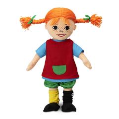 Кукла мягконабивная Пеппи Длинный чулок 40 см
