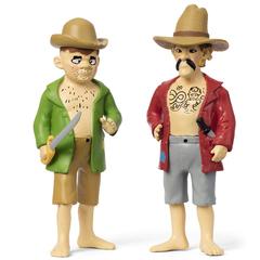 Набор кукол для домика Пеппи Длинный чулок пираты