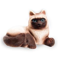 Резиновая игрушка Кошка Сиамка 15 см