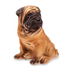 Резиновая игрушка Собака Шарпей 21 см