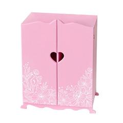 Шкаф для кукол, цвет: розовый