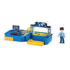 Игровой набор полиция с фигуркой полицейского в чемоданчике