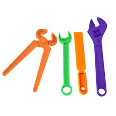 Набор игрушечных инструментов Ключи 4 предмета