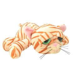 Мягкая игрушка Полосатый кот, 25 см