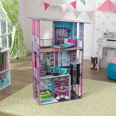 """Деревянный дом для кукол """"Гламурный"""" (Glamorous Dollhouse) с мебелью"""