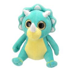 Мягкая игрушка Динозавр-трицераптор, 25 см
