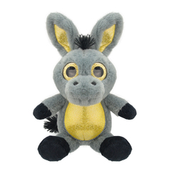 Мягкая игрушка Ослик, 15 см