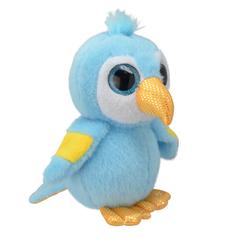 Мягкая игрушка Попугай Ара, 15 см