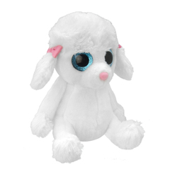 Мягкая игрушка Пудель маленький, 15 см