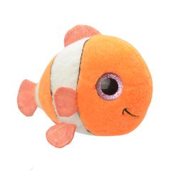 Мягкая игрушка Рыбка-клоун, 15 см