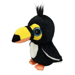 Мягкая игрушка Тукан маленький, 15 см