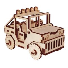 Сборная игрушка серии Я конструктор Джип