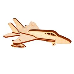 Сборная игрушка серии Я конструктор Самолет-истребитель
