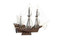 Сборная модель-копия. Парусный военный корабль