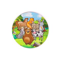 Вкладыши «Лесные и деревенские животные»