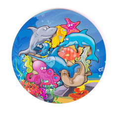 Вкладыши «Морские обитатели»
