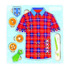 Игровой набор  Иглоборд Рубашка