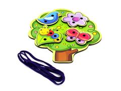 Игровой набор  Шнуровка Дерево